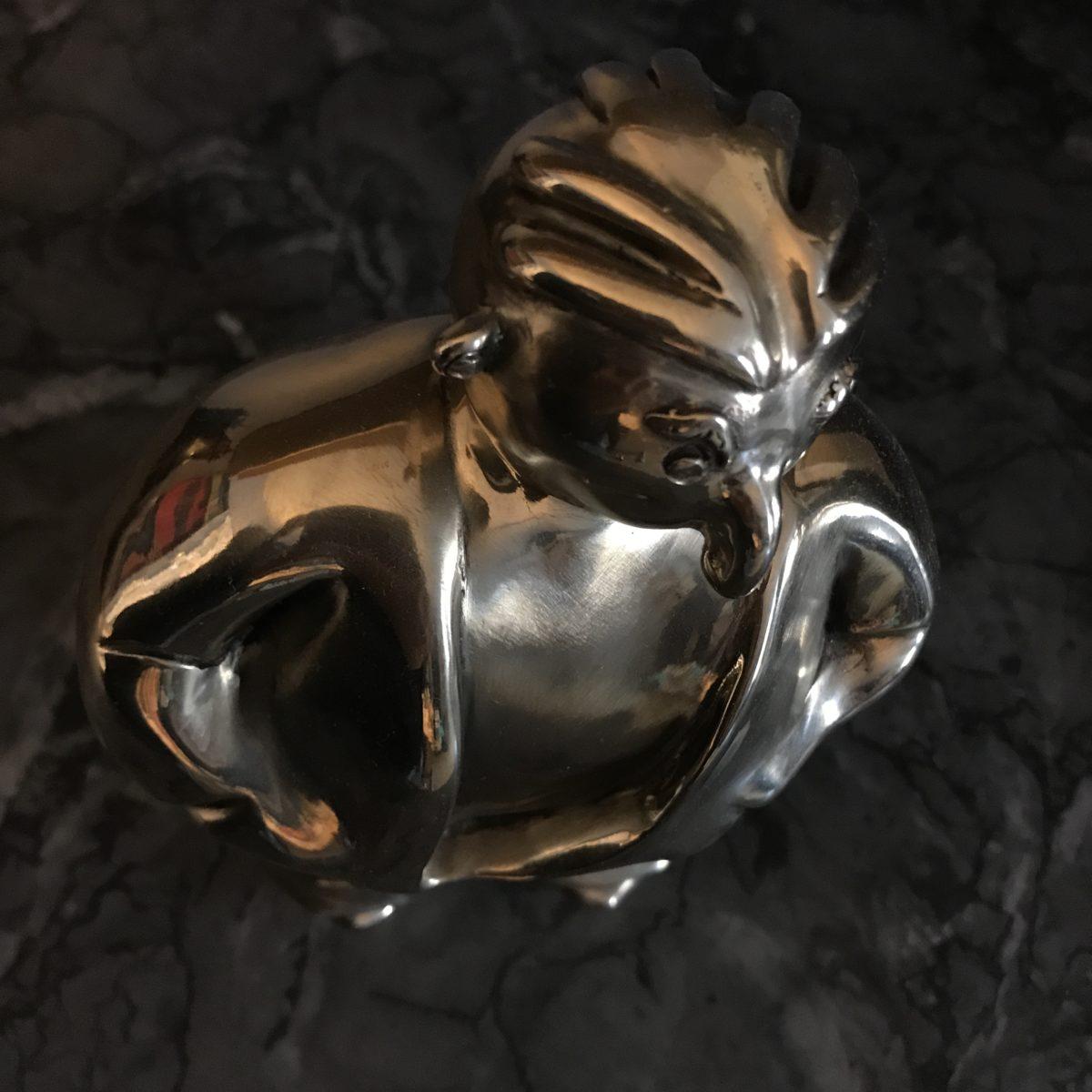 数ブラックブロンズモリーンに署名しました 金色 いくつかのブロンズシリーズ「レオン。」 割り当てられたBRefArtパリ。 真正の証明書。